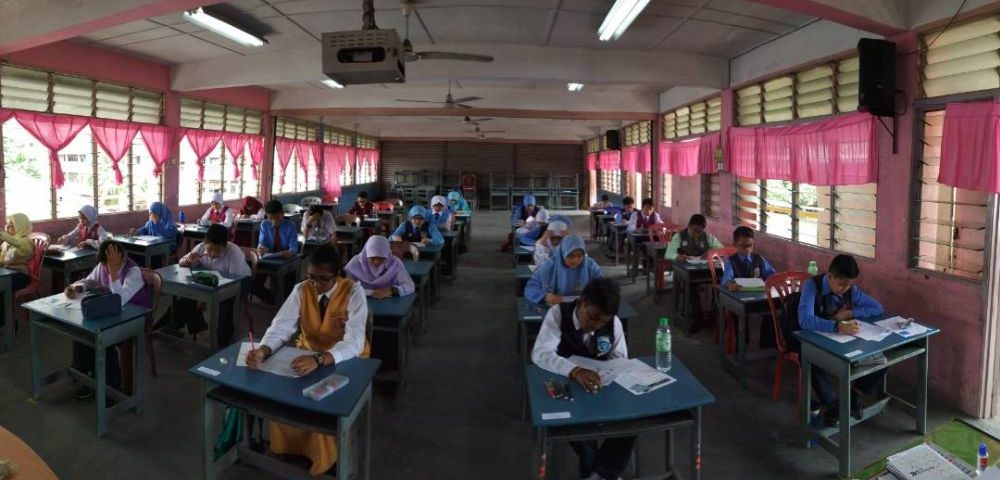 Form One 2018 Entrance Test: KYS Open Day (1 October 2017) SK Simpang, Taiping,  Perak